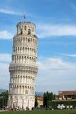 Torre de Pisa en el cuadrado de Miracoli - I Imagen de archivo libre de regalías