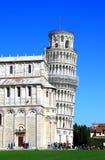 Torre de Pisa, Itália Fotos de Stock Royalty Free