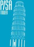 Torre de Pisa, italy Imagens de Stock Royalty Free