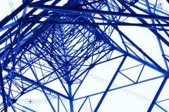 Torre de poder de aço Imagem de Stock Royalty Free
