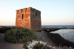 Torre de Polignano imagem de stock royalty free