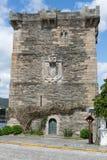 Torre de Pontedeume de Andrade, Galicia Fotografía de archivo