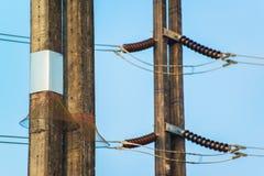 Torre de potencia Imagen de archivo libre de regalías