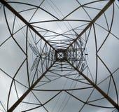Torre de potencia Foto de archivo libre de regalías