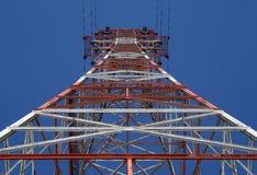 Torre de potencia roja imagenes de archivo