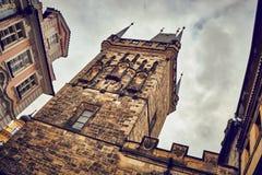 Torre de Praga Imagem de Stock Royalty Free