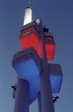 Torre de Praga Zizkov TV Fotos de archivo