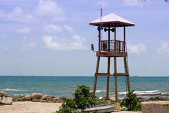 Torre de protetor da praia Imagem de Stock
