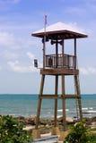 Torre de protetor da praia Foto de Stock Royalty Free