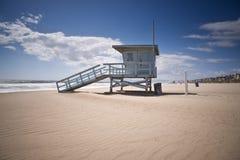 Torre de protetor da vida na tarde ventosa Foto de Stock Royalty Free