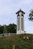 Torre de pulso de disparo de Atkinson em Kota Kinabalu Town fotos de stock royalty free