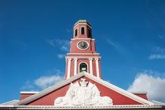 Torre de pulso de disparo de Barbados imagem de stock