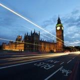 Torre de pulso de disparo de Ben grande Foto de Stock Royalty Free