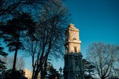 Torre de pulso de disparo de Dolmabahce Fotografia de Stock