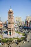 Torre de pulso de disparo de Faisalabad Fotografia de Stock