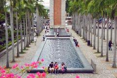 Torre de pulso de disparo de Hong Kong Fotos de Stock