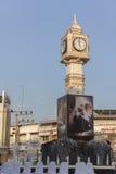 A torre de pulso de disparo de Phitsanulok a cerimônia para comemorar o rei Fotos de Stock