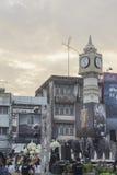 A torre de pulso de disparo de Phitsanulok a cerimônia para comemorar o rei Imagens de Stock