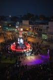 A torre de pulso de disparo de Phitsanulok a cerimônia para comemorar o rei Imagens de Stock Royalty Free