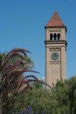 Torre de pulso de disparo de Spokane foto de stock royalty free