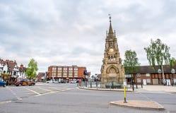 Torre de pulso de disparo de Stratford fotos de stock royalty free