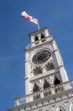 Torre de pulso de disparo do minério de Torre Reloj em Iquique, o Chile norte Imagem de Stock Royalty Free