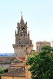 Torre de pulso de disparo em Avignon, France (Horloge) Fotografia de Stock