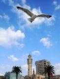 Torre de pulso de disparo em Izmir Fotografia de Stock Royalty Free