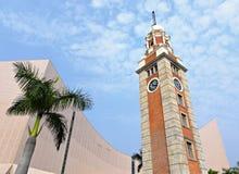 Torre de pulso de disparo em Tsim Sha Tsui imagens de stock