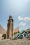 Torre de pulso de disparo em Tsim Sha Tsui fotografia de stock