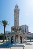 Torre de pulso de disparo histórica de Izmir Imagem de Stock Royalty Free