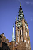 Torre de pulso de disparo medieval Imagens de Stock Royalty Free