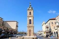 Torre de pulso de disparo na cidade de Jaffa Fotos de Stock Royalty Free