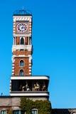 torre de pulso de disparo na fábrica do chocolate, Sapporo Imagem de Stock Royalty Free