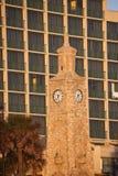 Torre de pulso de disparo na praia Fotografia de Stock Royalty Free