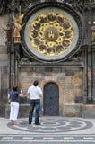 Torre de pulso de disparo, Praga, República Checa Imagens de Stock