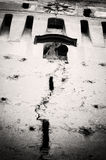 Torre de pulso de disparo velha em Saschiz Foto de Stock