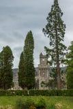 Torre de pulso de disparo de Abbey Highland Club no forte Augustus, Escócia Fotos de Stock