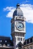 Torre de pulso de disparo da estação de trem do Gare de Lyon Paris, France Foto de Stock