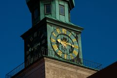Torre de pulso de disparo Munich Residenz Muenchner Residenz foto de stock royalty free
