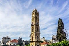 Torre de pulso de disparo 03 de Tripoli fotos de stock royalty free