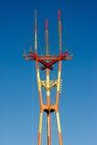 Torre de rádio Imagem de Stock
