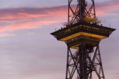 Torre de rádio Berlim-Oeste ? Imagem de Stock
