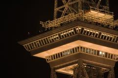 Torre de rádio Berlim-Oeste 1a Foto de Stock Royalty Free