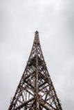 Torre de rádio de Gliwice, região de Silesia, Polônia Imagem de Stock