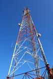 Torre de radio Fotos de archivo libres de regalías