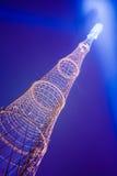 Torre de radio Imagen de archivo libre de regalías