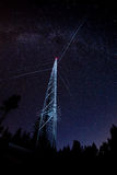 Torre de radio Foto de archivo