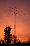 Torre de radio de jamón Foto de archivo
