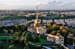 Torre de radio de Vatican foto de archivo